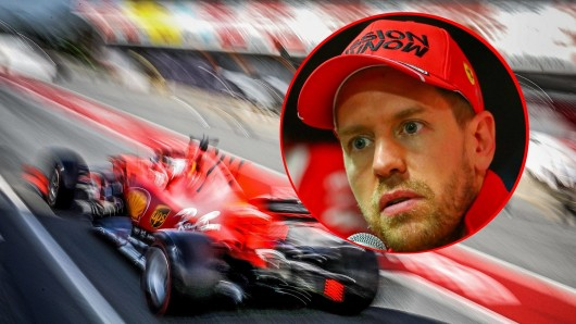 In der Formel 1 droht Sebastian Vettel und Ferrari eine Menge Ärger.