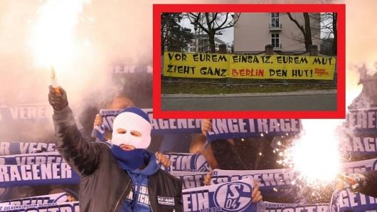 Die Ultras vom FC Bayern München oder Schalke 04 fallen in der Corona-Krise durch starke Aktionen auf.