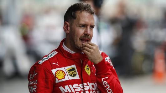 Sebastian Vettel und Ferrari stehen in der Formel 1 vor einer ungewissen Zukunft.