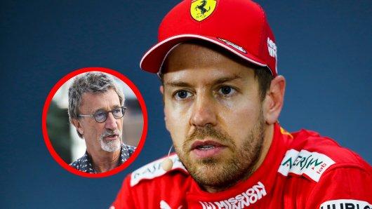 Sebastian Vettel muss sich harsche Kritik von einer Formel 1-Legende anhören.