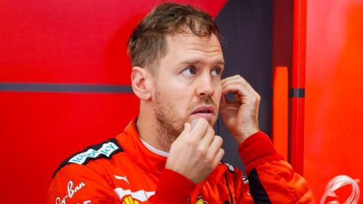 Sebastian Vettel: Sein Teamchef schießt gegen Ferrari.