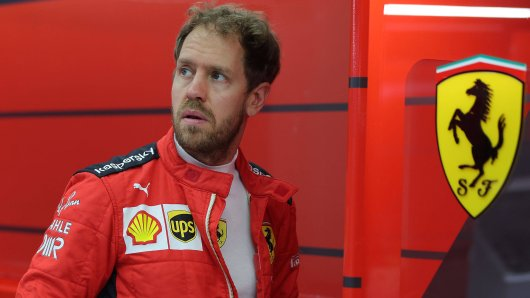 Sebastian Vettel schließt auch privat mit Ferrari ab.