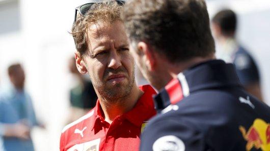 Formel 1: Sebastian Vettel wird darüber nicht so glücklich sein.