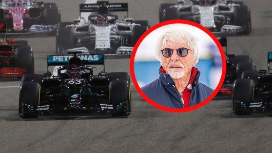 Formel 1: Dieser Vorschlag von Bernie Ecclestone würde die Formel 1-Rennen auf den Kopf stellen.