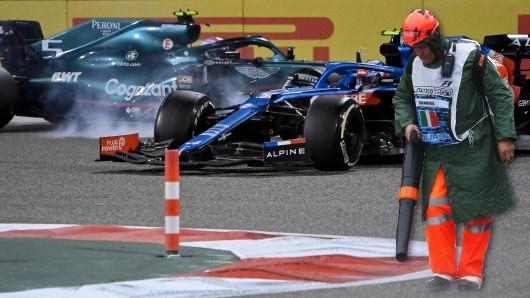 In der Formel 1 wird der Terminkalender am Rennwochenende durcheinandergewirbelt.