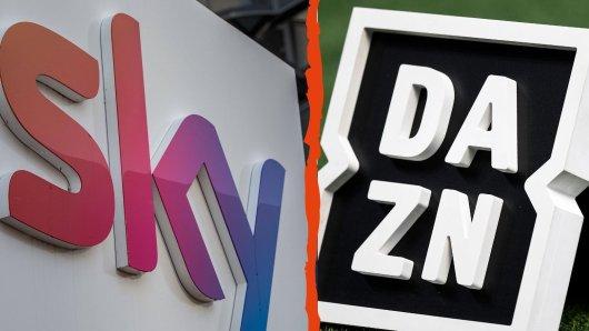 Im Kampf um die Übertragungsrechte für die attraktivsten Fußball-Ligen bahnt sich ein Hammer an. Sky dürfte es freuen, doch Konkurrent DAZN wird das gar nicht gefallen.