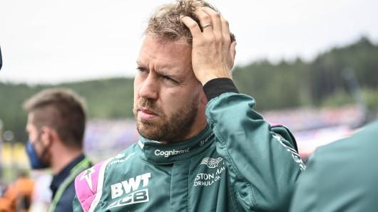 Sebastian Vettel erleidet schweren Rückschlag.