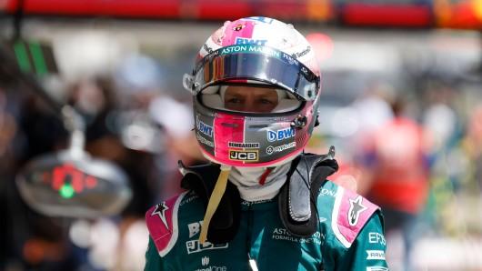 Sebastian Vettel setzt ein deutliches Zeichen.