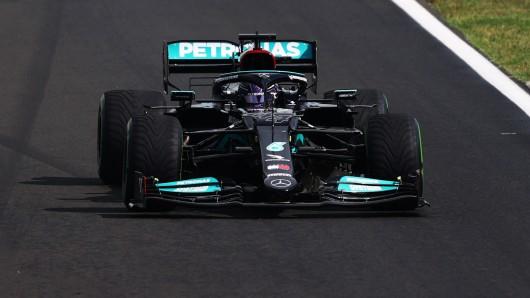 Formel 1: Irre Szene um Lewis Hamilton.