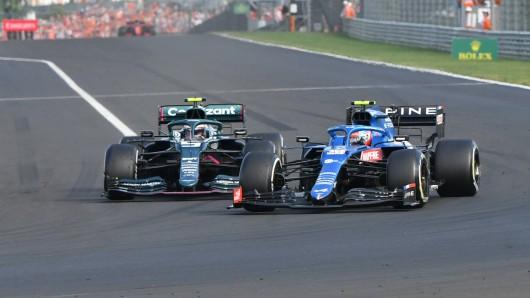 Formel 1: Ocon gewinnt den Ungarn-GP, Vettel wird Zweiter!