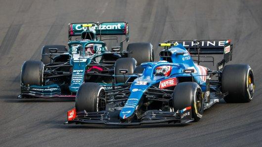 Formel 1: Die Fahrer können einen Erfolg feiern.