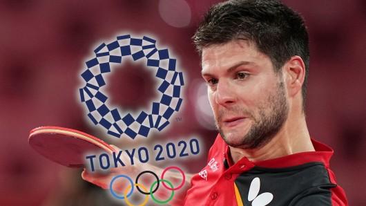 Im Tischtennis-Einzel der Herren bei Olympia 2021 sorgten die Veranstalter für einen Eklat.