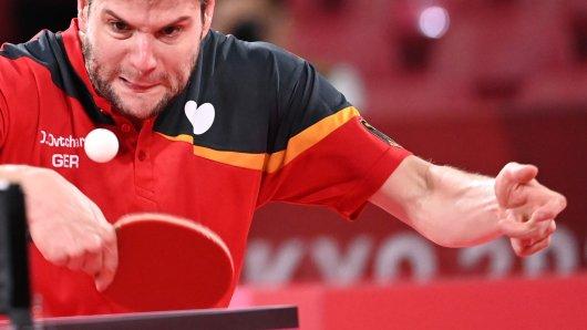 Olympia 2021: Beim Tischtennis-Einzel der Herren gab es einen Eklat.