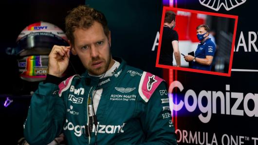 Formel 1: Sebastian Vettel kassierte in Ungarn eine bittere Strafe. Einen anderen Rennstall ereilte beinahe das gleiche Schicksal.