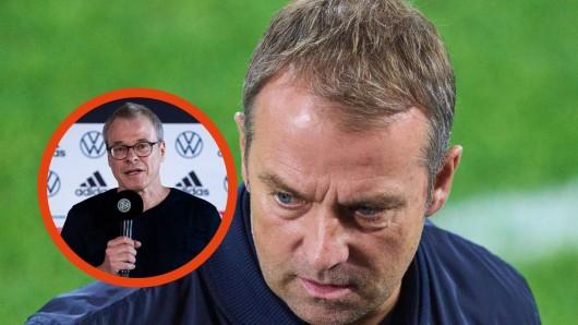 Beim Doppelpass auf Sport 1 wurde heiß über DFB-Trainer Hansi Flick diskutiert.