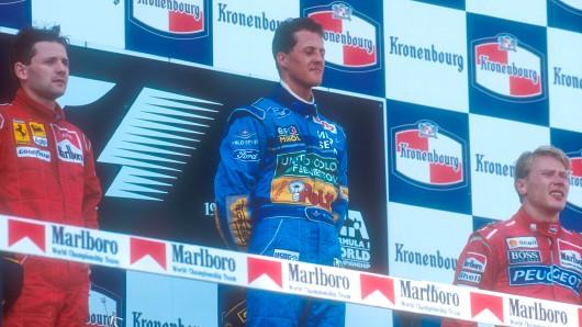 Einer der traurigsten Momente in der Karriere von Michael Schumacher.