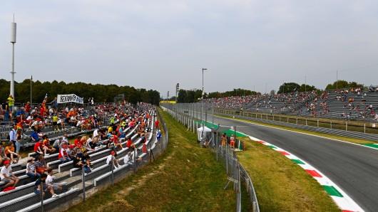 Beim Formel-1-Rennen in Monza werden dieses Jahr nicht so viele Besucher erwartet.