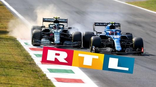 Die Formel 1 bei RTL: Planänderung!