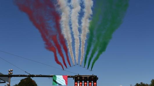 Die Formel 1 in Monza war nicht gerade gut besucht.