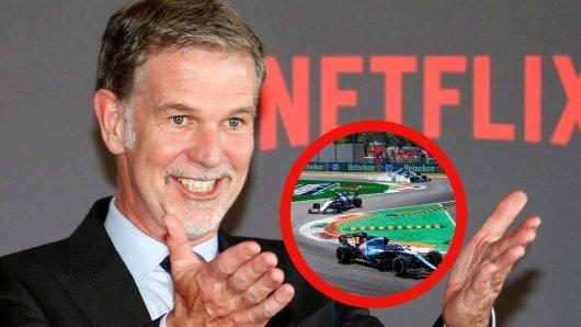 Netflix-CEO Reed Hastings äußert sich zu einem möglichen Rechte-Erwerb der Formel 1.