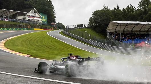 """Die Formel 1 verliert eine Ikone: Das legendäre Chalet an der """"Eau Rouge"""" in Spa wurde abgerissen."""