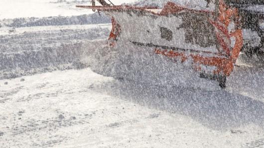 Am Wochenende werden Schnee und Sturm in NRW erwartet.