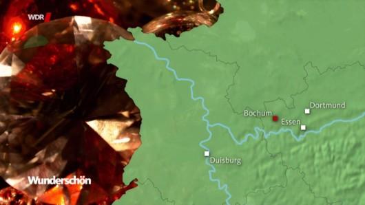 Der WDR ordnet in seiner Karte die Städte im Ruhrgebiet neu.