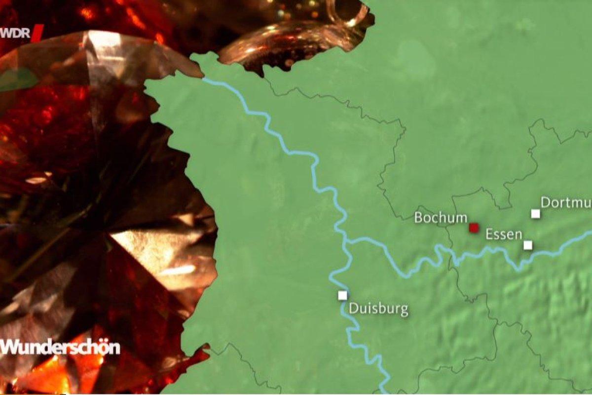 Karte Ruhrgebiet Städte.Peinlicher Fehler Beim Wdr Ruhrgebiet Städte Auf Karte Verschoben