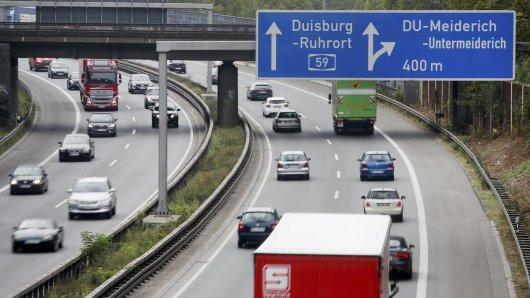 Die A59 wird am Wochenende bei Duisburg komplett dicht gemacht.