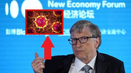 Bill Gates soll hinter dem Corona Virus stecken – diese irre Verschwürungstheorie geistert gerade durch die Sozialen Netzwerke.