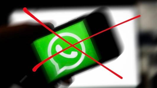 Kein Whatsapp mehr: Der Messenger stellt seinen Support für alte Betriebssysteme ein.