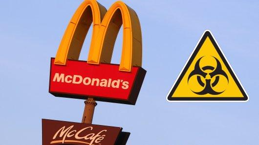 McDonald's zieht die Reißleine: Wegen des Coronavirus sind einige Restaurants geschlossen. (Symbolfoto)
