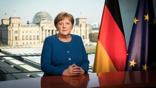 Bundeskanzlerin Angela Merkel hat an die Nation gesprochen.
