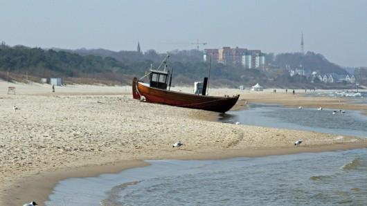 Am Strand von Usedom machten Inselbewohner eine mysteriöse Entdeckung. (Symbolfoto)