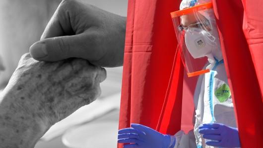 Eine 90-Jährige starb am Coronavirus, weil sie ihren Platz am Beatmungsgerät zur Verfügung stellte.