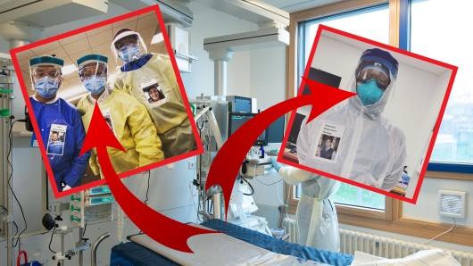 Das Coronavirus machte einige Krankenhaus-Teams in den USA erfinderisch.