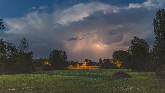 Das Wetter in Deutschland war vor allem im Süden am Wochenende äußerst ungemütlich.