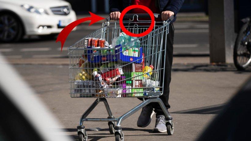 Aldi, Lidl, Rewe: Einkaufswagen hat DIESEN Griff – doch keiner weiß, wofür er da ist