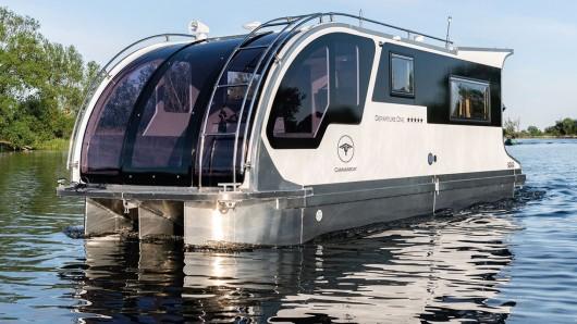 Zweifellos ein sehr schönes Hausboot. Doch es gibt einen fiesen Haken.