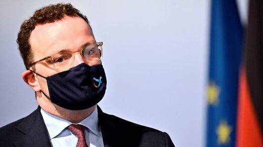 Corona: Gesundheitsminister Jens Spahn verkündet die Testpflicht für Reiserückkehrer aus Risikogebieten. (Archivbild)