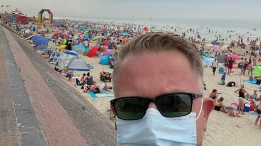 Urlaub in Frankreich: Marcus R. aus Bonn wollte ein Wochenende in Frankreich verbringen. Doch man sieht schon das Problem...