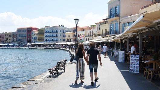 Urlaub auf Kreta: Ein Hotel hatte eine Forderung an deutsche Touristen, die diese verwirrte. (Symbolbild)
