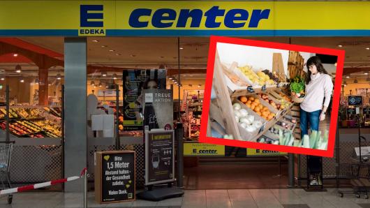 Beim Obst-Kauf wurde eine Edeka-Kundin nicht nur bitter enttäuscht – es hätte auch böse für sie enden können.