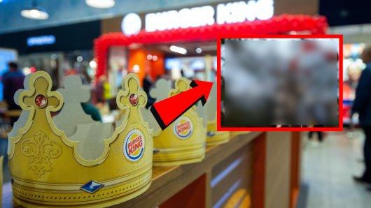 Grusel-Alarm bei Burger King! Dort sollten ängstliche Menschen derzeit vorsichtig sein, was sie sagen. (Symbolbild)