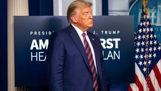 US-Präsident Donald Trump sorgt mal wieder für zweifelhafte Entscheidungen. Den virtuellen G20-Gipfel verlässt er frühzeitig. Augenscheinlich hatte er Besseres zu tun.