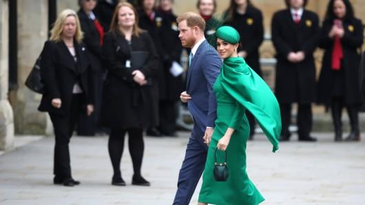Meghan Markle und Prinz Harry gehen einen drastischen Schritt. (Archivbild)