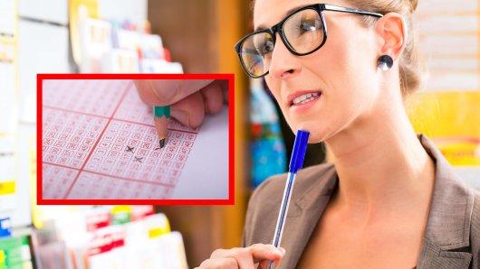 Lotto-Tippschein ausfüllen oder nicht? Frau fragt Mann um Rat. (Symbolbild)