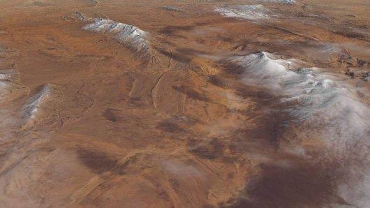 Zu einem seltenen Wetterphänomen ist es nun in der Sahara gekommen. (Archivbild)