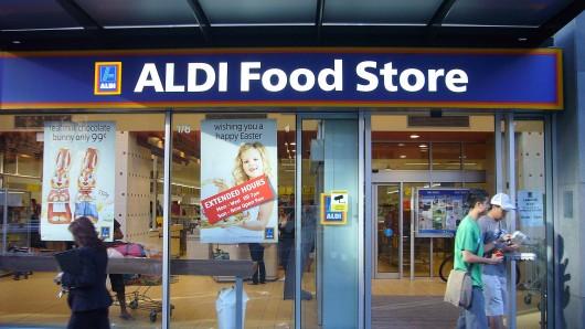 Ein Aldi-Markt im australischen Melbourne. (Archivfoto)