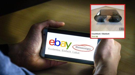 Auf Ebay-Kleinanzeigen bietet ein Mann ein Couchtisch an. Ein Interessent macht eine dreiste Anfrage. (Symbolbild)
